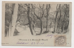 13 BOUCHES DU RHONE - MARSEILLE L'Huveaune à La Barasse - Saint Marcel, La Barasse, Saintt Menet
