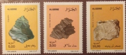 Algeria 1994 - One Set Of 3 Minerals Mineral Resources Stone Stones Nature Stamps MNH Scott#1029-1031 - Minerali