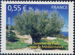 4259  SOMMET Pour La MEDITERRANEE  NEUF ** ANNEE 2008 - France