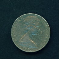 NEW ZEALAND  -  1982  10c  Circulated Coin - New Zealand