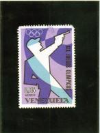 1968 Venezuela - Olimpiadi Di Mexico City - Tiro (armi)