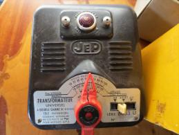 Transformateur à Double Gammes De Vitesse - JEP - 6053 . U 7 - Série 60 Dans Sa Boite D'origine - - Elektr. Zubehör