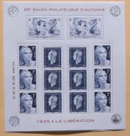 France 2015  Bloc La Libéation -1945  -69e Salon Philatélique D´Automne (blister Neuf ) - Ongebruikt