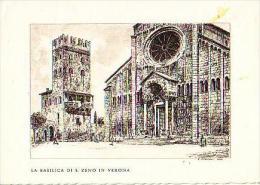 Verona       H700       La Basilica Di S.Zeno In Verona ( Fagivoli 1959 ) - Verona