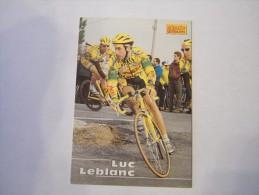 FIGURINA TIPO CARDS MERLIN ULTIMATE, CICLISMO, 1996,  CARD´S N° 121 LUC LEBLANC - Ciclismo