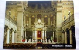 ITALY 2016 - OFFICIAL CARD VISITA PAPA FRANCESCO ALLA SINAGOGA DI ROMA - 6. 1946-.. Repubblica