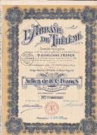 I  1 /  L  ABBAYE DE THELEME  1925  A IVRY LA BATAILLE  EURE  D27 - Industrie