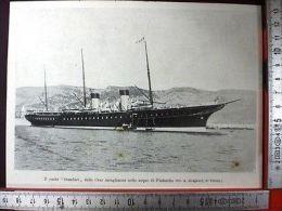 1907/9 Lo Yacht STANDART Dello Czar Incagliatosi Nelle Acque Di Finlandia - Ohne Zuordnung