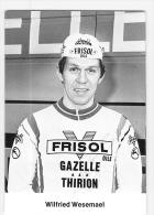 Wilfried WESEMAEL ,  Autographe Manuscrit, Dédicace . 2 Scans. Cyclisme. Frisol - Cycling