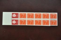 S 258 ++ POSTZEGELBOEKJE  PZB PB 1H 10 GEDECENTREERD POSTFRIS MNH - Booklets