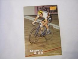 FIGURINA TIPO CARDS MERLIN ULTIMATE, CICLISMO, 1996,  CARD´S N° 198 FAUSTO VILLA - Ciclismo
