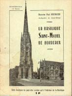 Plaquette Basilique Saint Michel (bordeaux) 1964 (PPP2170) - Toeristische Brochures