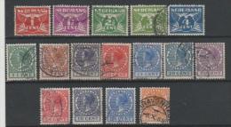 PAYS-BAS - 1926-28 - Obl. - Y&T LOT DIVERS - Filigrane Cercle   - 0.5€