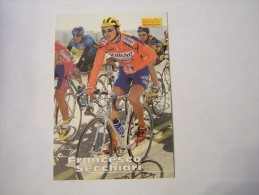 FIGURINA TIPO CARDS MERLIN ULTIMATE, CICLISMO, 1996,  CARD´S N° 227 FRANCESCO SECCHIARI - Ciclismo