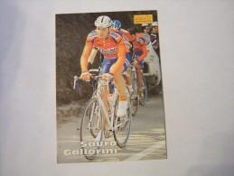 FIGURINA TIPO CARDS MERLIN ULTIMATE, CICLISMO, 1996,  CARD´S N° 230 SAURO GALLORINI - Ciclismo