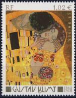3461 Le BAISER  TABLEAU De G KLIMT   NEUF** ANNEE 2002 - Francia