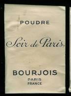POUDRE Soir De Paris BOURJOIS Poudre AMBREE - Parfum (neuf Sous Emballage)