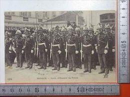 3128 Monaco, Garde D'Honneur Du Prince, Animèe Et Tres Belle - Ohne Zuordnung