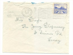 JERSEY WWII 26.6.1944 GERMAN OCCUPATION, LETTER - Jersey