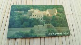 Phonecard Yemen (mint,Neuve) 2 Scans  Rare