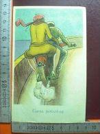 4144 Cartolina Tematica, Motociclismo, Curva Pericolosa - Ohne Zuordnung