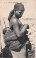 ¤¤  -    7018   -  Scènes Et Types   -  Jeune Mère Africaine Avec Son Bébé  -  ¤¤ - Postcards