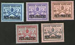 Vaticano - Vatican 1931 - Pio XI  SERIE PER PACCHI CAT. Unificato N° PP1 A PP13 - Pacchi Postali