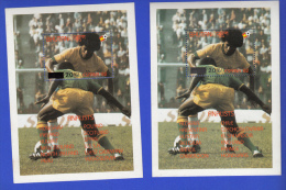 BHUTAN 1985 Surcharge Overprint Stamps (perforated) On The 1982 Football / Soccer World Cup Spain Set And Two S/Ss - Bhutan