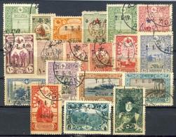Cilicia 1919 Sovrastampa TEO Serie Completa N. 58-76 (- N. 59) USATI Catalogo € 200