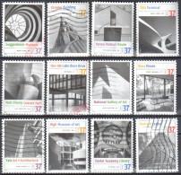 United States 2005 Modern American Architectures - Sc # 3910 - Mi.3927-38 - Used - Vereinigte Staaten