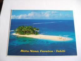 MOTU Nono à Faratea TAHITI N° 651 TEVA SYLVAIN - Tahiti