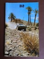 Revue Citroen Le Double Chevron N° 32 - 1973 - DS Rallye Du Maroc - Raid Afrique - Rallye Cross - 2cv - Fiat... - Pubblicitari