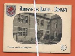 Abbaye De LEFFE -  Carnet De 10 CPA - Dinant