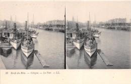 ¤¤  -   ALLEMAGNE   -  Carte Stéréo   -  COLOGNE   -  KOELN   -  Le Port  -  Bateaux  -   ¤¤ - Koeln