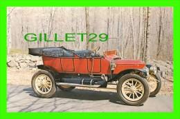 PASSENGERS CARS - 1912 STANLEY MODEL 73, 20 HP STEAM TOURING CAR OF ROBERT E. MEAD - - Voitures De Tourisme