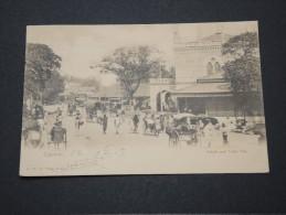 Ceylan (Sri Lanka) - Carte De Colombo Pour La France - Griffe Paquebot Ligne N° 8 - A Voir - P 16008 - Timbres