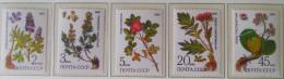PLANTES MEDICINALES 1985 - NEUFS ** - YT 5232/36 - MI 5528/32 - 1923-1991 USSR