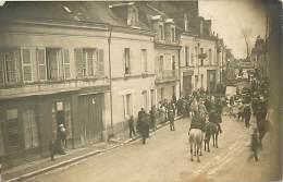A16-1355  : MANTHELAN ?  CARTE PHOTO FETE - France