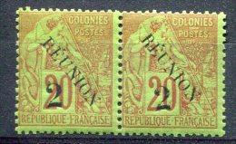 Réunion              31  **  En Paire - Réunion (1852-1975)