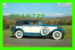 PASSENGERS CARS - 1929 ROLLS-ROYCE PHANTOM 1 CONVERTIBLE SEDAN BY HIBBARD & DARRIN - - Voitures De Tourisme