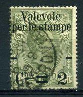 ITALIE ( POSTE ) : Y&T  N°  46  TIMBRE  BIEN  OBLITERE ,  A  VOIR . - 1878-00 Humbert I