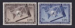 NATIONS UNIES NEW-YORK N°   17 & 18 * MLH Neufs Avec Charnière, TB  (D1289) - New York -  VN Hauptquartier
