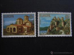YUGOSLAVIA / JUGOSLAVIJA AÑO 1978 YVERT Nº 1607/08 ** MNH - EUROPA - IGLESIAS - ARQUITECTUR - Unused Stamps
