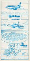 Airtour 2000_suncomfort_brochure Explicative Au Format BD - Titres De Transport