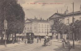 DIJON  PLACE SAINT PIERRE STATION DES TRAMWAYS - Dijon