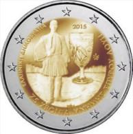 Griekenland  2015     2 Euro Commemo   Louis Spyridon       UNC Uit De Rol  UNC Du Rouleaux  !! - Grèce
