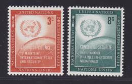 NATIONS UNIES NEW-YORK N°   52 & 53 * MLH Neufs Avec Charnière, TB  (D1300) - New York -  VN Hauptquartier