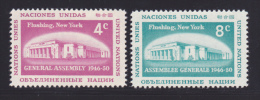 NATIONS UNIES NEW-YORK N°   66 & 67 * MLH Neufs Avec Charnière, TB  (D1305) - Ungebraucht