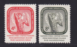 NATIONS UNIES NEW-YORK N°   70 & 71 * MLH Neufs Avec Charnière, TB  (D1304) - Ungebraucht