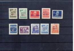 Triest Zone B (STT-VUJA) Freimarken / Definitives Michel 12-21 Postfrisch / MNH - 7. Triest